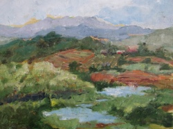 Paintings by Vicki Bartholomew, Nashville painter